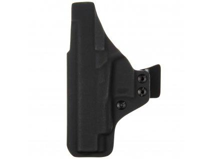 IWB - Glock 48 Rail - vnitřní kydexové pouzdro - plný sweatguard - ns - dráp - černá