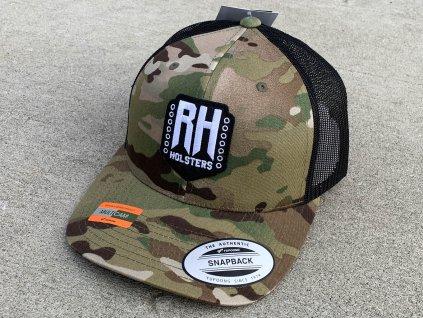 Kšiltovka Snapback Truckerka RH Holsters