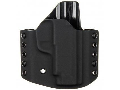 OWB - SIG Sauer P365 XL - vnější kydexové pouzdro - poloviční sweatguard - černá/černá