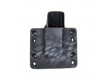 OWB - Glock 17/19/19X/45 - vnější kydexové pouzdro na 1 zásobník - plný sweatguard - kryptek typhon/černá