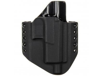 OWB - CZ P-10 C OR SR - vnější kydexové pouzdro - poloviční sweatguard - černá/černá