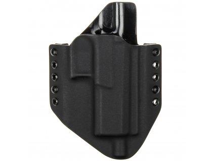 OWB - CZ P-10 F/SC OR SR - vnější kydexové pouzdro - poloviční sweatguard - černá/černá
