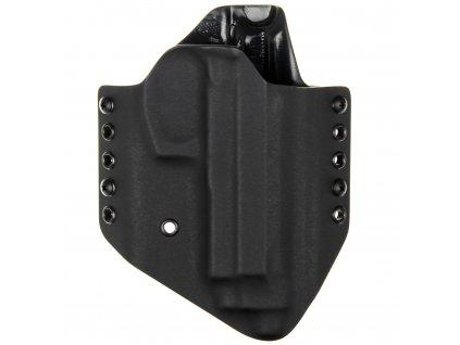 OWB - Beretta M9A3 - vnější kydexové pouzdro - poloviční sweatguard - černá/černá