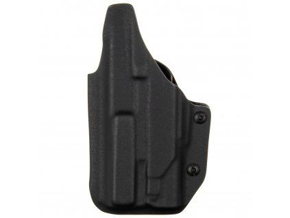 IWB - Glock 19/23/32 - Glock 19X/45 + Surefire XC2 - vnitřní kydexové pouzdro plný - sweatguard - ns - černá