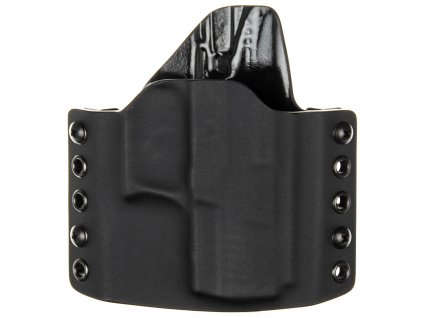 OWB - Walther P22 - vnější kydexové pouzdro - poloviční sweatguard - černá/černá