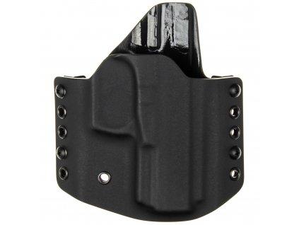 OWB - Walther P99 - vnější kydexové pouzdro - poloviční sweatguard - černá/černá
