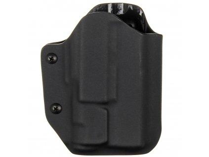 TAC - Glock 19/23/32 - Glock 19X/45 + Inforce APLc - taktické kydexové pouzdro - černá
