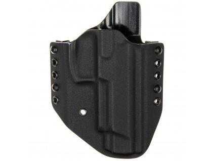 OWB - Heckler & Koch SFP9L - vnější kydexové pouzdro - poloviční sweatguard - černá/černá