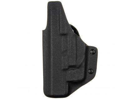 IWB - Glock 17/22/31 + Streamlight TLR-6 - vnitřní kydexové pouzdro - plný sweatguard - ns - černá