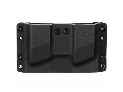 OWB - SIG Sauer P365 - vnější kydexové pouzdro na 2 zásobníky - bez sweatguardu - černá/černá