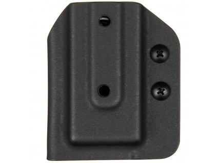 TAC - Glock 17/19/19X/45 - kydexové pouzdro na 1 zásobník - černá