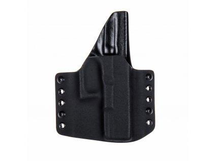 OWB - Glock 19/23/32 - Glock 19X/45 - vnější kydexové pouzdro - plný sweatguard - černá/černá