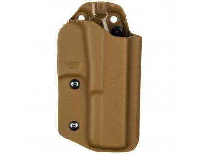 TAC - Glock 17/22/31 - taktické kydexové pouzdro - coyote hnědá