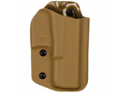 TAC - Glock 19/23/32 - Glock 19X/45 - taktické kydexové pouzdro - coyote hnědá
