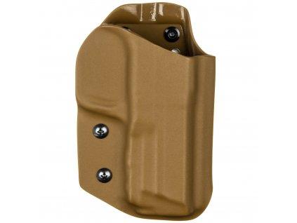 TAC - Smith & Wesson M&P9 - taktické kydexové pouzdro - coyote hnědá
