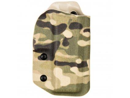 TAC - CZ P-10 C - taktické kydexové pouzdro - multicam