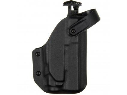 TAC - Glock 19/23/32 - Glock 19X/45 + Streamlight TLR-8 - AUTO pojistka - taktické kydexové pouzdro - černá