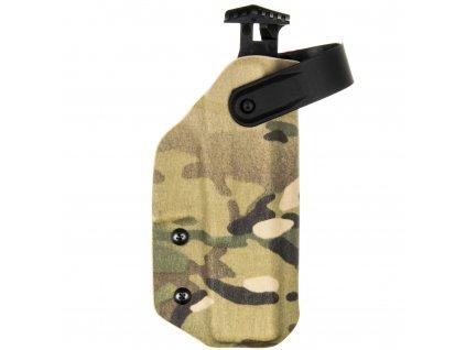 TAC - Glock 17/22/31 - AUTO pojistka - taktické kydexové pouzdro - multicam