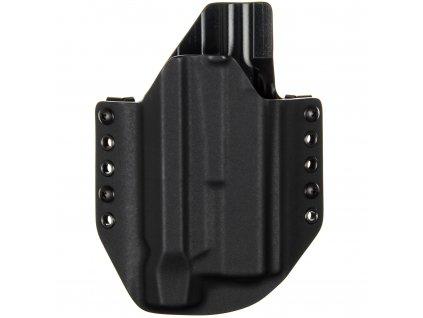 OWB - Glock 17 Gen5 + Inforce WILD2 - vnější kydexové pouzdro - poloviční sweatguard - černá/černá
