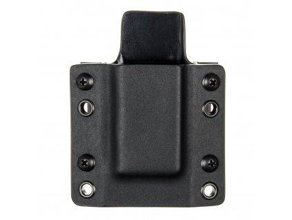 OWB - 1911 - vnější kydexové pouzdro na 1 zásobník - plný sweatguard - černá/černá