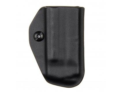 IWB - Smith & Wesson M&P9 SHIELD - vnitřní kydexové pouzdro na 1 zásobník - bez sweatguardu - černá