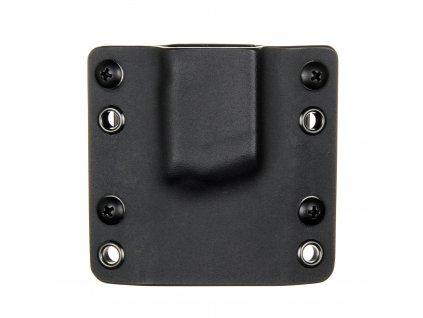 OWB - Glock 42 - vnější kydexové pouzdro na 1 zásobník - bez sweatguardu - černá/černá