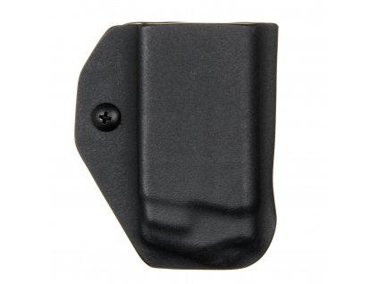 IWB - Glock 36 - vnitřní kydexové pouzdro na 1 zásobník - bez sweatguardu - černá