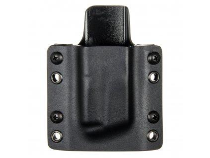 OWB - CZ 97 B - vnější kydexové pouzdro na 1 zásobník - plný sweatguard - černá/černá