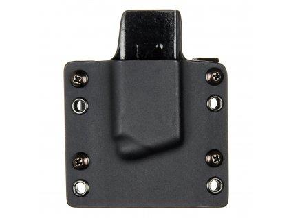 """OWB - Springfield XD-S 3.3"""" .45ACP - vnější kydexové pouzdro na 1 zásobník - plný sweatguard - černá/černá"""