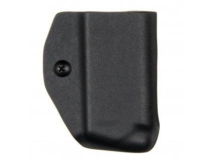 """IWB - Springfield XD-S 3.3"""" .45ACP - vnitřní kydexové pouzdro na 1 zásobník - bez sweatguardu - černá"""