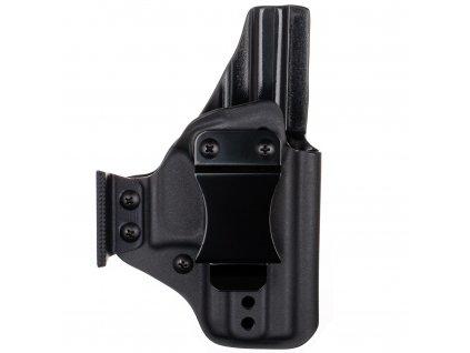 AIWB - Glock 43X Rail MOS - appendix vnitřní kydexové pouzdro - plný sweatguard - ns - černá