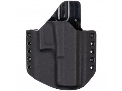 Kydexové pouzdro na zbraň Glock 17/22/31 - vnější, černá