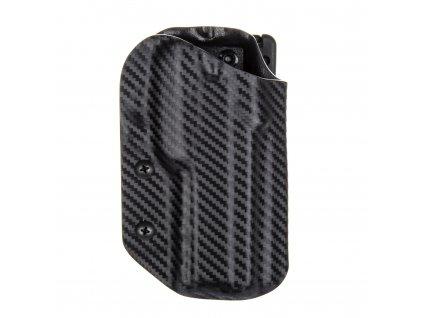 Sportovní kydexové pouzdro na zbraň CZ 75 SP-01 Shadow - vnější, carbon