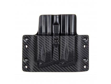 """Kydexové pouzdro na zásobníky Springfield XDM 4.5"""" - vnější, carbon/černá"""