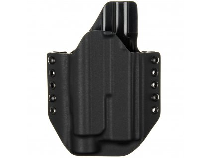 Kydexové pouzdro na zbraň Glock 17/22/31 se svítilnou Streamlight TLR-1 - vnější, černá