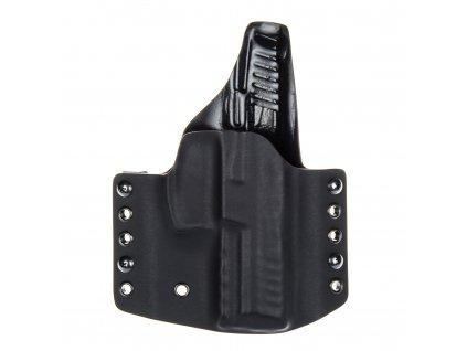 Kydexové pouzdro na zbraň Heckler & Koch SFP9 (VP9) se sweatguardem - vnější, černá