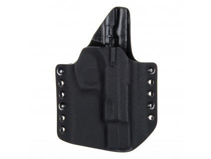 Kydexové pouzdro na zbraň CZ 75 B se sweatguardem - vnější, černá