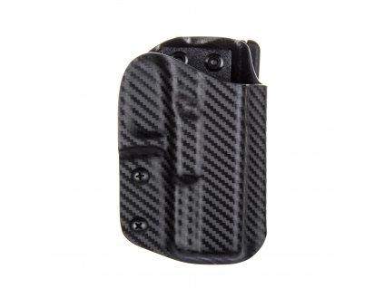 Sportovní kydexové pouzdro na zbraň Glock 19/23/32 - vnější, carbon