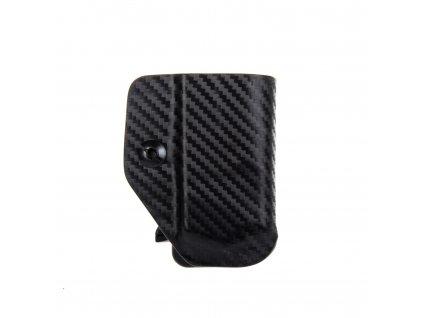 Kydexové pouzdro na zásobník Glock 19/23/32 - vnitřní, carbon