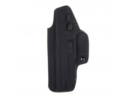 Kydexové pouzdro na zbraň SIG Sauer P226 X-FIVE se sweatguardem a nastavením svoru - vnitřní, černá