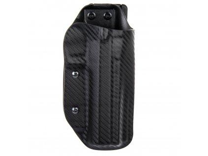 Sportovní kydexové pouzdro na zbraň CZ 75 TS Orange - vnější, carbon