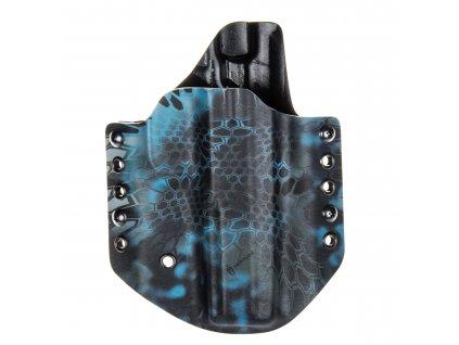Kydexové pouzdro na zbraň CZ Shadow 2 - vnější, kryptek neptune/černá