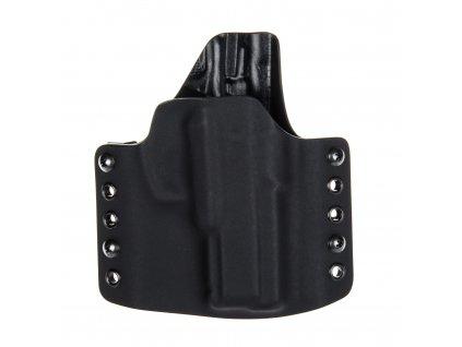 Kydexové pouzdro na zbraň CZ 75 D Compact - vnější, černá