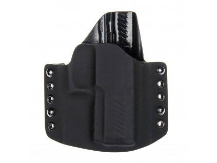 Kydexové pouzdro na zbraň SIG Sauer P320 Compact s railem - vnější, černá