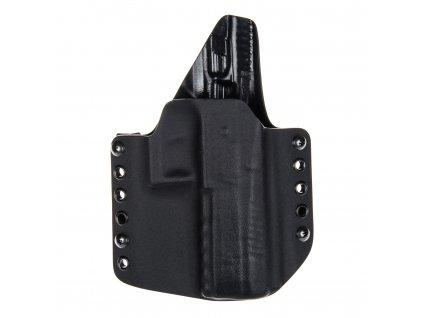 Kydexové pouzdro na zbraň CZ P-09 se sweatguardem - vnější, černá