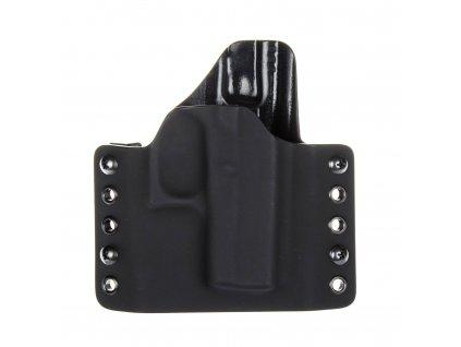 Kydexové pouzdro na zbraň Glock 42 - vnější, černá