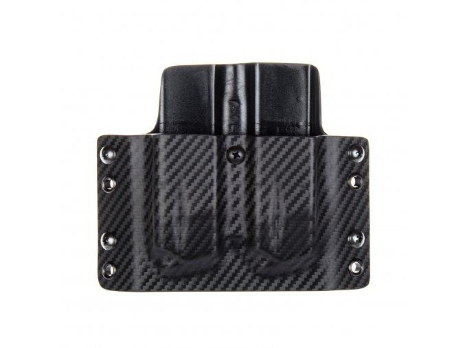 Kydexové pouzdro na zásobníky CZ Shadow 2 - vnější, carbon/černá