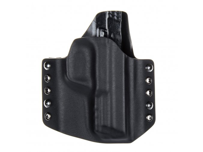 Kydexové pouzdro na zbraň Smith & Wesson M&P9 - vnější, černá