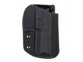 Sportovní kydexové pouzdro na zbraň Heckler & Koch SFP9 (VP9) - vnější, černá