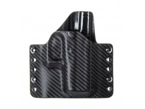 Kydexové pouzdro na zbraň Glock 43 - vnější, carbon/černá